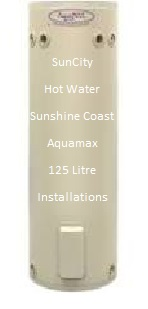 Rheem made AquaMAX 125 litre electric hot water heaters