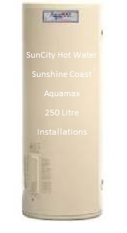 250 litre electric hot water system by rheem's aquqmax