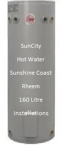 160 Litre rheem electric hot water bioler Sunshine Coast
