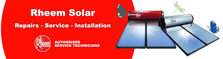 rheem solat hot water heaters