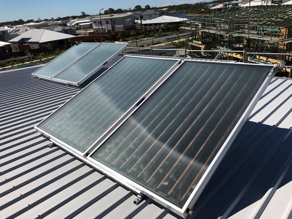 Trade solar hot water installations sunshine coast