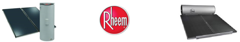 Rheem solar hot water heaters brisbane, Bribie Island, Caloundra, Maroochydore, Noosa, Nambour and Gympie