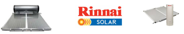Rinnai solar hot water heaters brisbane and sunshine coast