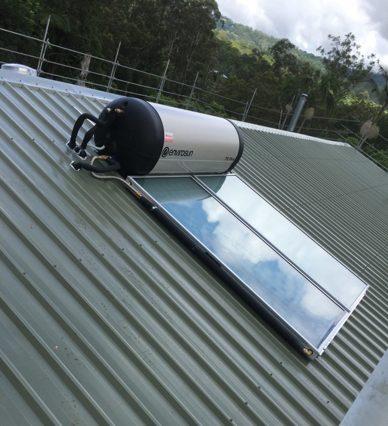 Trade solar hot water system installations Brisbane