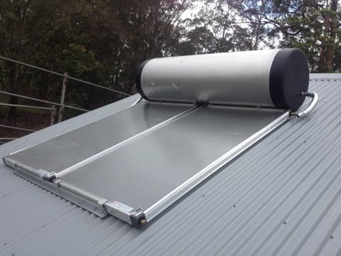 Rinnai solar hot water builders plonk one service