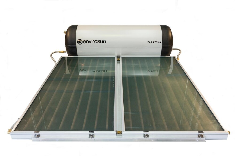 Envirosun TS Plus solar hot water system,