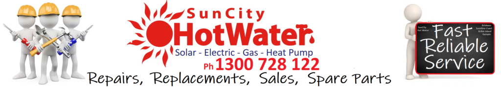 Hot water systems Sunshine Coast and Brisbane by Suncity hot water