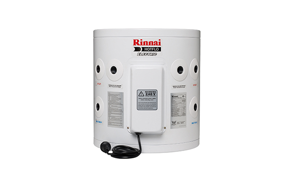 Rinnai 25lt electric hot water system Brisbane and Sunshine Coast