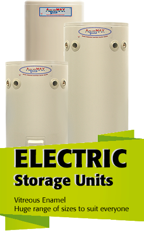 AquaMAX electric hot water systems