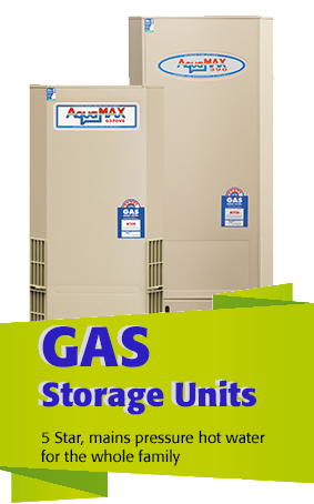 AquaMAX gas hot water systems Brsiabne and Sunshine Coast
