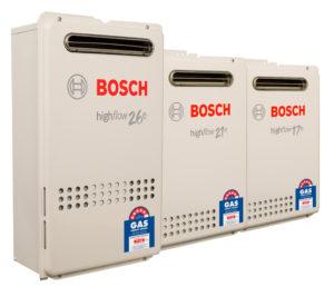Bosch gas hot water systems Brisbane