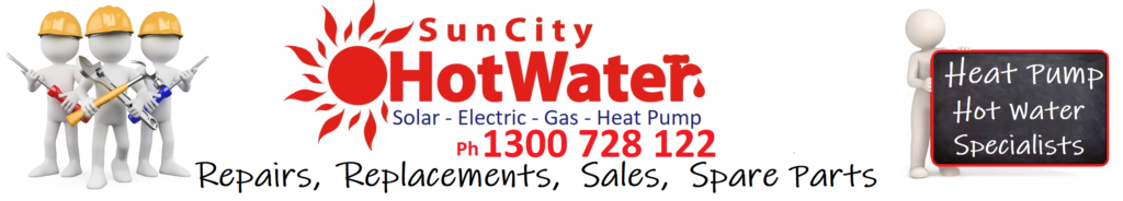 Heat pump hot water system repairs and replacements, heat pump spare parts