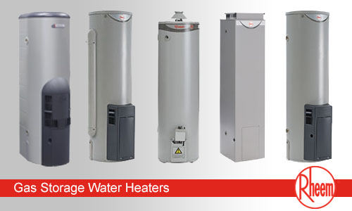 Rheem gas hot water systems Brisbane