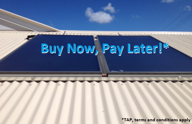Buy now pay later hot water systems Brisbane and Sunshine Coast