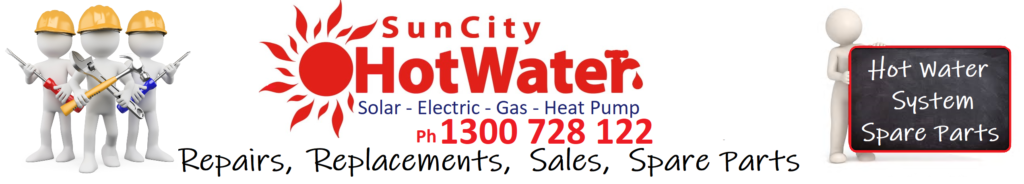 Spare parts for solar hot water systems
