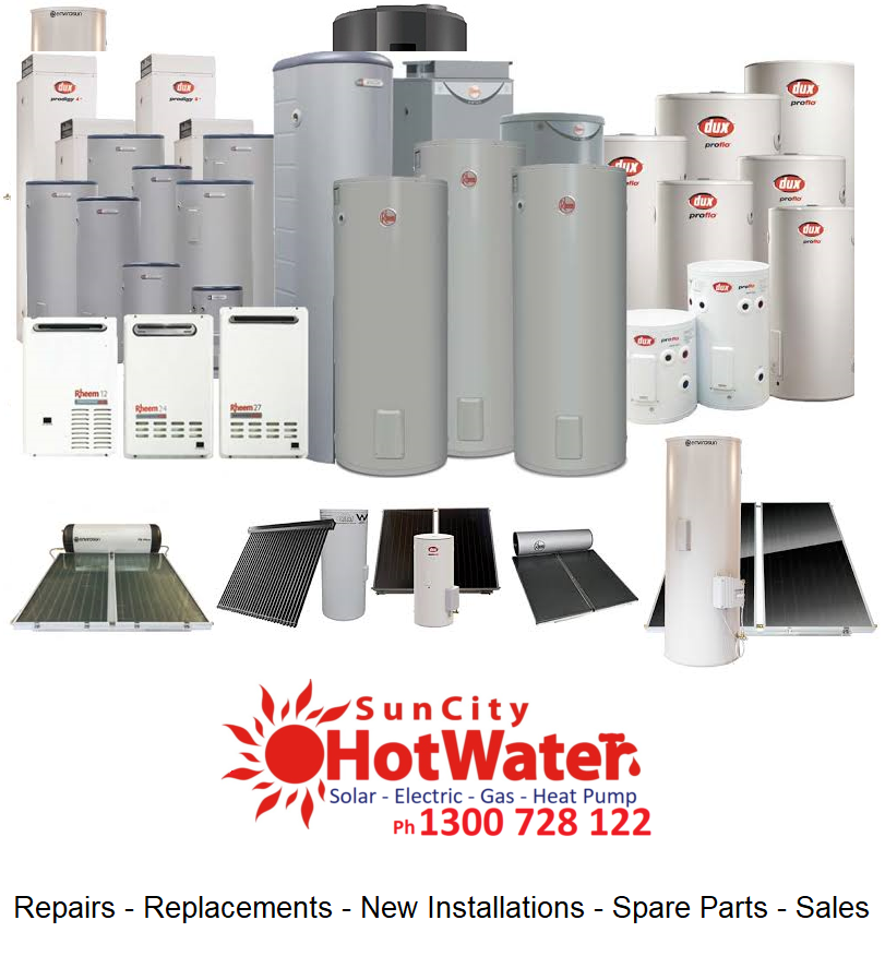 Hot water systems Sunshine Coast and Brisbane