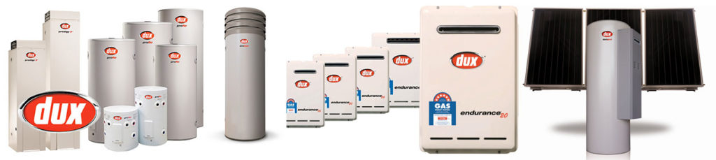 Dux hot water systems Sunshine Coast, Brisbane and Gympie