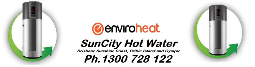 enviroheat heat pump hot water system