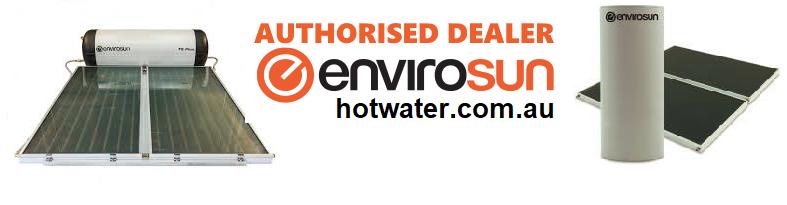Envirosun solar hot water systems Sunshine Coast