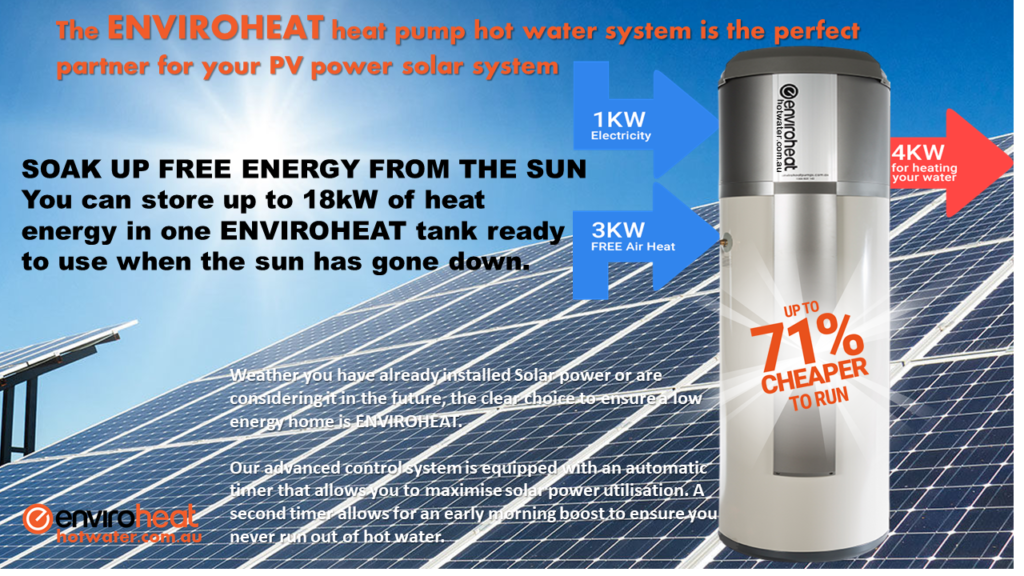 Enviroheat hot water systems Brisbane